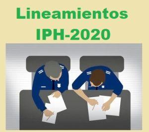 Lineamientos del IPH