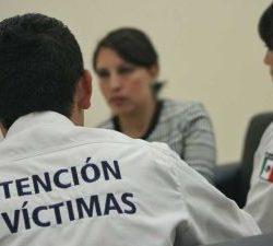 Atención a víctimas del delito